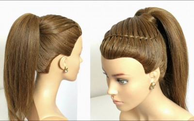 Easy-Prom-Ponytail-Hairstyle-For-Long-Hair-Tutorial.
