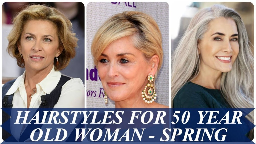 Hairstyles For Short Hair 50 Year Old: Hairstyles For 50 Year Old Woman Spring Hair Trends 2018
