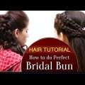 How-to-Do-Perfect-Bridal-Bun-hairstyles-for-Wedding-Beautiful-hairstyles-2017