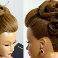 New-Beautiful-Bun-Hairstyle-for-Long-Hair-Hairstyles-for-festivals-occasion