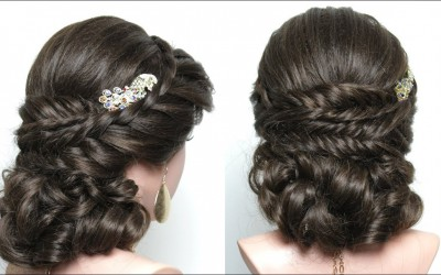 Perfect-Bridal-Hairstyle-For-Long-Hair-Tutorial.-Wedding-Prom-Updo