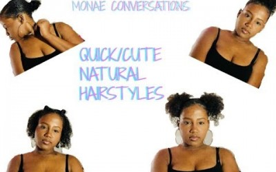 QUICK-EASY-NATURAL-HAIRSTYLES-FOR-THICK-SHORTMEDIUM-HAIR