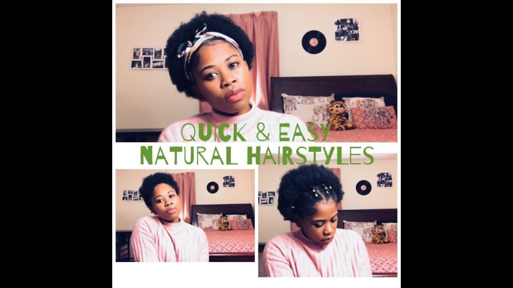 Quick Easy Hairstyles For Short Natural Hair 4c Hair Type