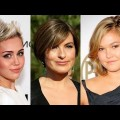Short-Haircut-for-Ladies-with-Round-Faces-for-2018-Trendy-Pixie-Bob-Hairstyles