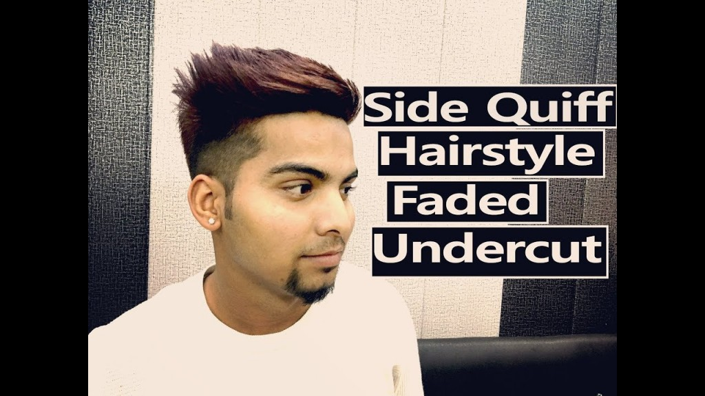 Side Quiff Faded Undercut Hairstyle Winter Hairstyle 2017 Best