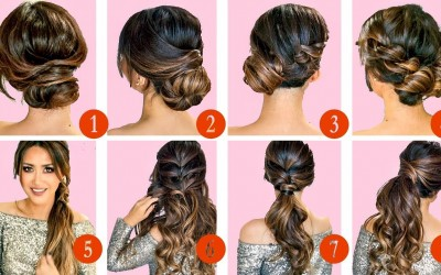 TOP-10-GREATEST-HOLIDAY-HAIRSTYLES-UPDOS-with-Puff-EASY-TUTORIAL-for-LONG-MEDIUM-HAIR