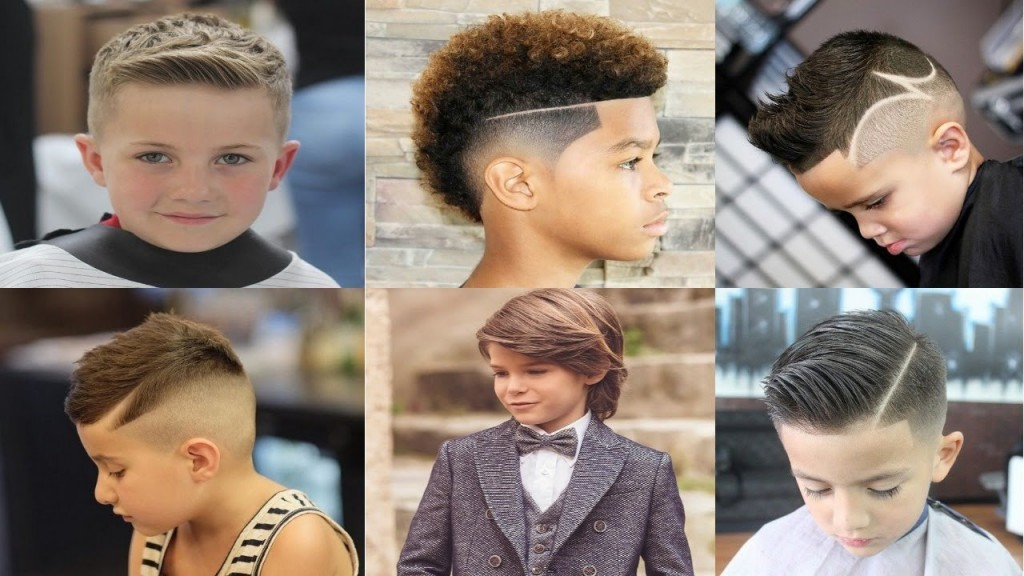 Top 50 Most Attractive Haircuts U0026 Hairstyles For Boys 2018 Ufe0fufe0f Ufe0f Kids Boys Hairstyles Trends 2018 ...