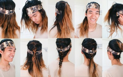 10-EASY-HEADBAND-HAIRSTYLES-in-2-MINS-ft.-The-Longhairs-Mens-Long-Hair-2018