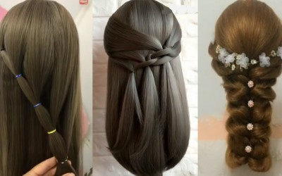 10-Easy-Hairstyles-For-Long-HairAmazing-Bridal-Hairstyles-Tutorial-Peinados-para-nias-Prt4