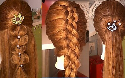 10-Easy-Hairstyles-For-Long-HairAmazing-Bridal-Hairstyles-Tutorial-Peinados-para-nias-Prt6