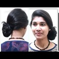 1Minute-twisted-Messy-Bun-updo-for-casual-hairstyles-updos-tutorial-videos-2018.