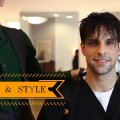 2-Hairstyles-Short-Matte-Pompadour-Shiny-Classic-Slicked-Back-Hairstyle-2018