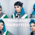 5-EASY-BANDANA-HAIRSTYLES-FOR-SHORT-HAIR
