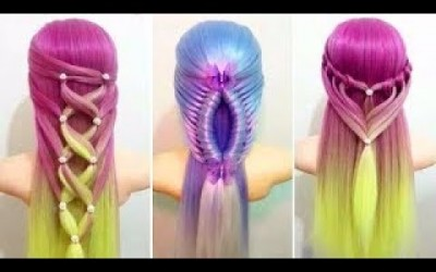 Beautiful-Hairstyles-Compilation-2017-Amazing-Hair-Hacks-Hair-Color-Transformation-for