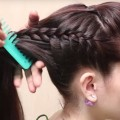 Beautiful-Hairstyles-with-Long-Ponytail-Trick-Easy-wedding-Hairstyles