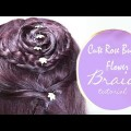 DIY-Cute-Rose-Bud-Flower-Braid-Hairstyle-2018-Easy-Hairstyles-Tutorials
