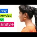 Easy-Beautiful-Wedding-Hairstyles-with-puff-Party-Hairstyle-tutorials-2018
