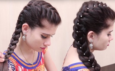 Easy-Hairstyle-For-occasion-2-Beautiful-Hairstyles-for-Function-New-Wedding-Hairstyles