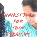 Easy-Party-Hairstyle-for-Thin-Medium-to-Long-hair-at-Home-Pull-Through-Braid