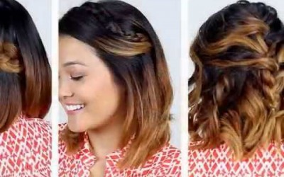 Hairstyles-For-Short-Hair-And-Easy-Quick