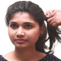 Latest-Party-Twisted-Bun-Hairstyle-Wedding-Hairstyle-for-Medium-Hair-Quick-and-Easy-Hairstyles
