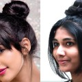 Messy-and-Sleek-High-Bun-Hairstyles-Messy-Bun-hairstyle-Updos-Everyday