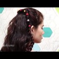 New-Headband-Hairstyle-for-long-Curly-hair-Simple-hairstyles-Tutorials-2018.