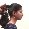 Quick-and-easy-ponytail-hairstyles-for-schoolCollegeOffice-Simple-Hairstyles-for-Medium-Hair