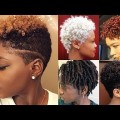 Short-Natural-Hairstyles-for-Afro-American-Women-Short-Haircuts-for-Short-Hair