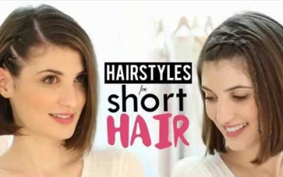 Simple-Hairstyles-For-Short-Hair-At-Home-for-Women