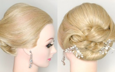 Wedding-Hairstyle-Prom-Upstyle-For-Medium-Long-Hair