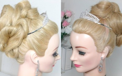Wedding-Hairstyle-Upstyle-For-Long-Hair-Prom-Updo