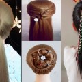 10-Easy-Hairstyles-For-Long-HairAmazing-Bridal-Hairstyles-Tutorial-Peinados-para-nias-Prt10