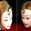 2-Easy-Hairstyles-for-Wedding-Hairstyle-with-Maang-Tikka-for-Medium-or-Long-Hair-Priya-Malik