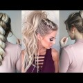 2018-Playful-Glam-Ponytail-Hairstyle-Ideas