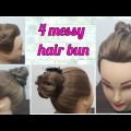 4-messy-bun-judaeasy-every-day-hairstyles-for-young-girllong-and-medium-hair.