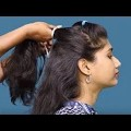 7-Easy-Holiday-Hairstyles-Tutorial-YouTube-for-Long-Hair-short-hair-HairStyle-Ideas-in-2018