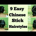 9-Easy-Stick-Hairstyles-for-Everyday-Life-Hairstyles-for-Long-Hair-Hairstyles-Tutorial