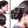Braidal-Bun-Hair-styles-step-by-step-Tutorial-Simple-bun-hair-styles