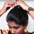 Different-and-simple-way-to-make-knot-Bun-Everyday-Hairstyes-DIY-Hairstyles