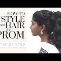 Drag-Braided-Ponytail-for-Short-length-hair-Braided-Hairstyles-with-Ponytail-Hairstyles-Tutorials