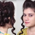 EASY-Messy-Bun-Hairstyle-Simple-Bun-Hairstyle-Tutorial-for-long-hair-Hair-style-video-2018