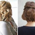 Easy-Half-Hairstyles-For-Short-Hair-Down