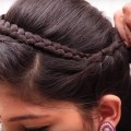 Easy-Ribbon-Band-Hair-Style-for-Long-Hair-Puff-Hair-Style-Ladies-Hair-Style-Videos-2017