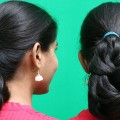 Easy-different-Party-Hair-style-for-Medium-Length-Hair-styles-for-girls-Hair-style-videos-2018