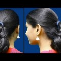 Easy-hairstyles-for-eve-party-holidays-Quick-Poni-updo-for-long-to-shortmedium-hair-youtube.