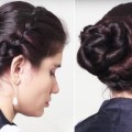 Elegant-BUN-Hairstyle-2018-EASY-Updo-Hairstyles-for-Medium-Hair-Fashion-Hairstyles