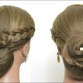 Elegant-Flower-Bun-Hairstyle-For-Long-Hair-Tutorial.-Wedding-Updo