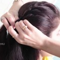 HAIRSTYLE-TUTORIAL-HALF-FRENCH-FISHTAIL-BRAID-Side-Braid-for-long-hair-self-hairstyle-videos