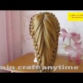 Hairstyle-with-braid-Beautiful-easy-hairstyle-to-make-long-medium-hair-Hairstyle-for-girl